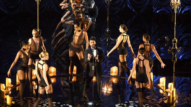 Watch the Weeknd's Sexy 'Earned It' Performance at Oscars