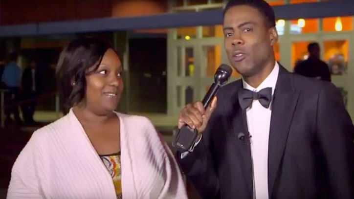 Watch Oscars 2016 Host Chris Rock Quiz Compton Theatergoers