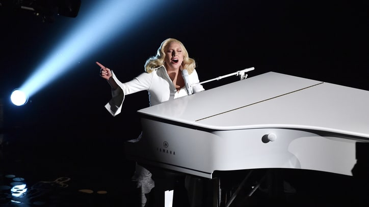Lady Gaga Delivers Powerful ''Til It Happens to You' at Oscars 2016