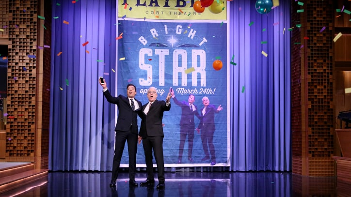 Watch Steve Martin Sing the Late-Night TV Blues on 'Fallon'