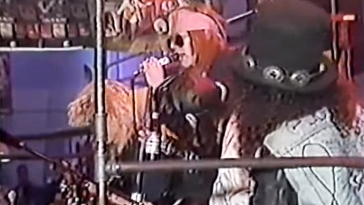 Flashback: Guns N' Roses Perform Acoustic Set at CBGB in 1987