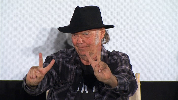 Neil Young Talks Filmmaking, New 'Human Highway' Restoration