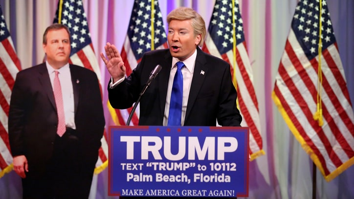 Fallon as Trump Delivers Goofy, Grandiose Super Tuesday Victory Speech