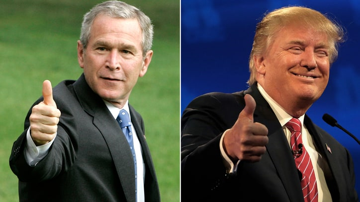 Bushisms vs. Trumpisms: See Who Wins Battle to Sound Stupider?