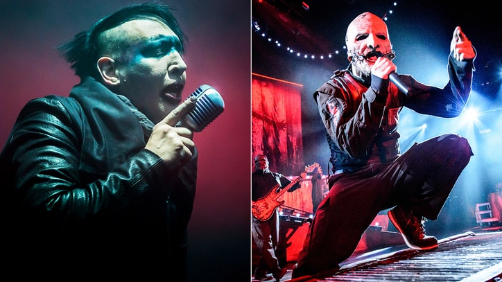 Slipknot Singer Talks Marilyn Manson Gross-Out Contest, Tour