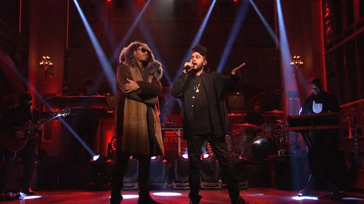 Watch Future Bring Out the Weeknd for 'Low Life' on 'SNL'