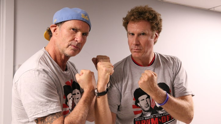Will Ferrell, RHCP's Chad Smith to Reteam for All-Star Benefit