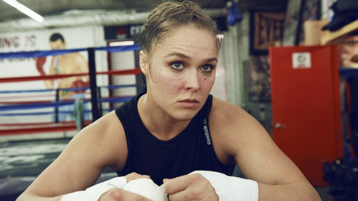 Ronda Rousey Was Watching Wrestling Instead of UFC 196