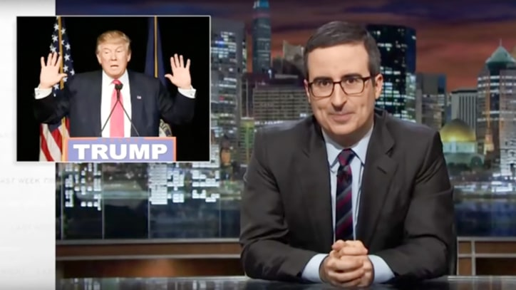John Oliver Taunts Trump's Penis: 'Cheeto With Cheese Dust Rubbed Off'
