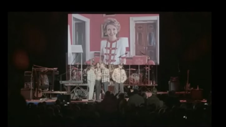 Watch Beach Boys' Touching Tribute to Nancy Reagan