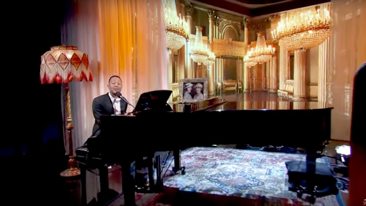 Watch John Legend Add Funny Lyrics to 'Downton Abbey' Theme