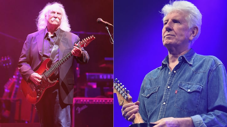Graham Nash: 'I Don't Want Anything to Do With' David Crosby