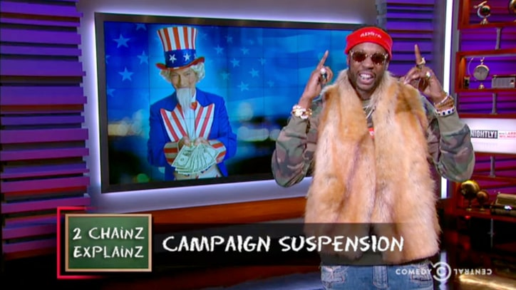 Watch 2 Chainz Explain Why Presidential Candidates 'Suspend' Campaigns