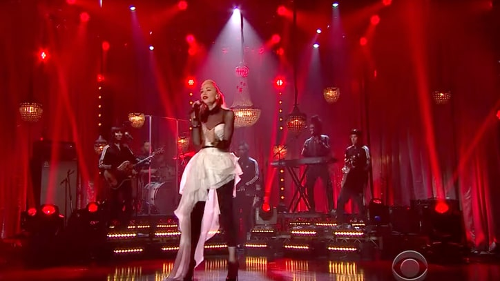 Watch Gwen Stefani's Vibrant 'Make Me Like You' on 'Late Late Show'