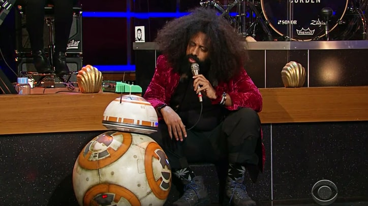 Watch 'Star Wars' Droid BB-8 Jam With Reggie Watts on 'Corden'