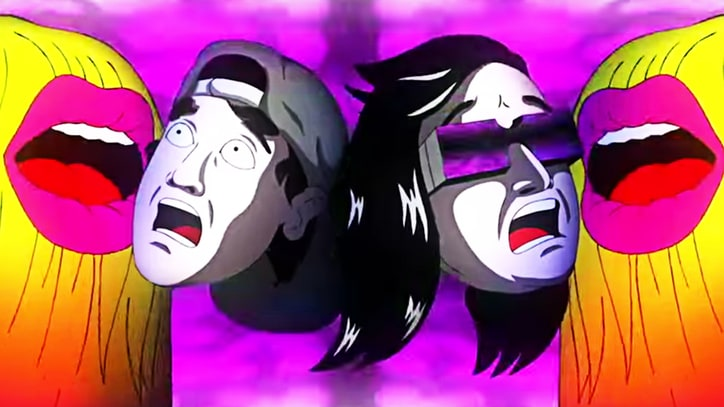 Skrillex Channels 'Epic Rap Battles' in Trippy, Animated 'Squad Out' Video