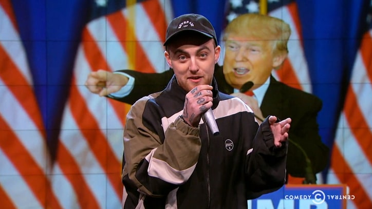 Watch Mac Miller 'Whitesplain' to 'Racist F--kwad' Donald Trump