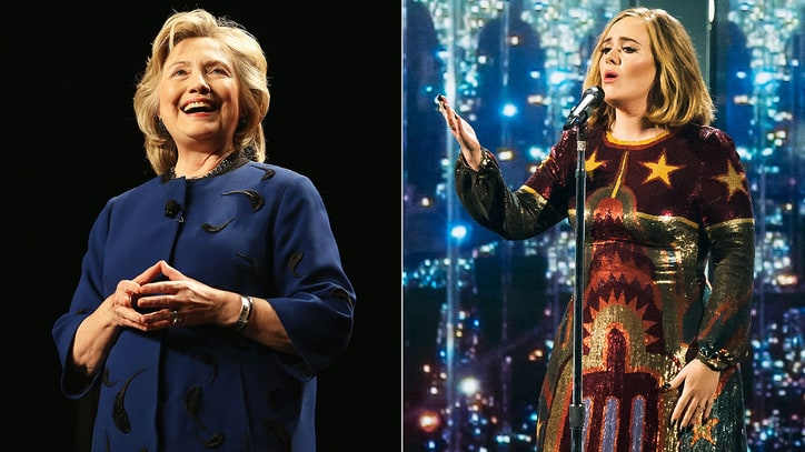 Hillary Clinton: Adele Is My Go-To Voice