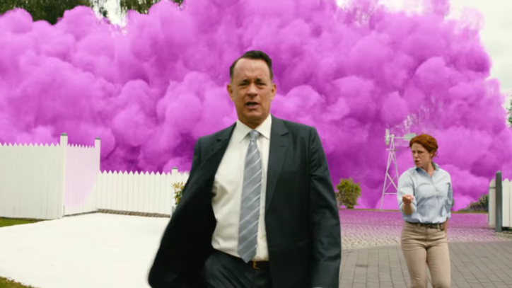 Watch Tom Hanks' Hopeful, Humorous 'A Hologram for the King' Trailer