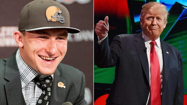 Remember When Donald Trump Endorsed Johnny Manziel?
