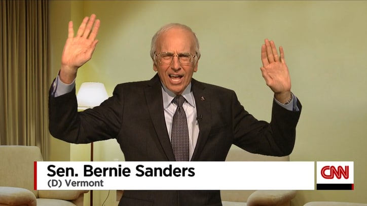 Watch Larry David Return as Bernie Sanders to 'SNL'