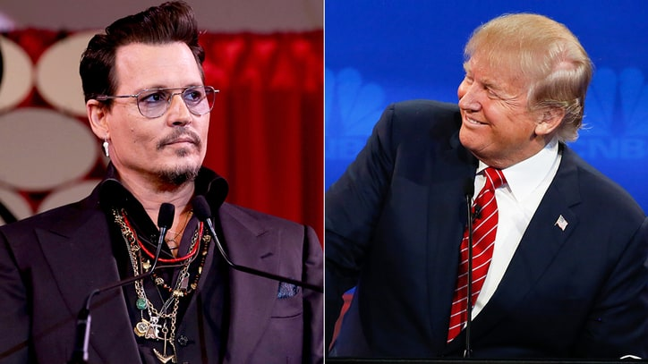 Johnny Depp: Donald Trump Is a Brat