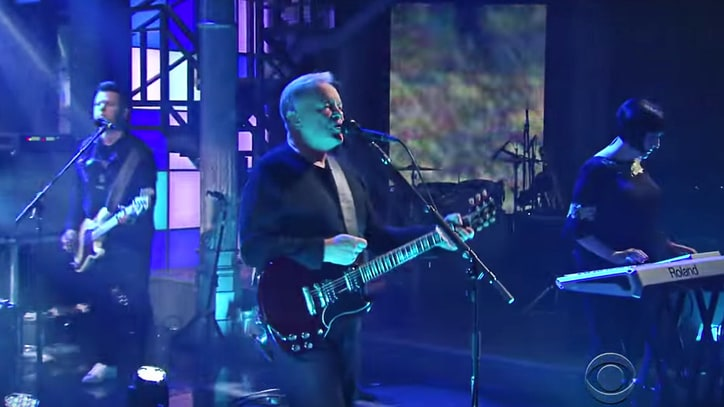 Watch New Order Perform Energetic 'Singularity' on 'Late Show'