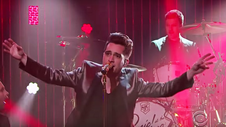 See Panic! At the Disco's 'Victorious' Backflip on 'Corden'