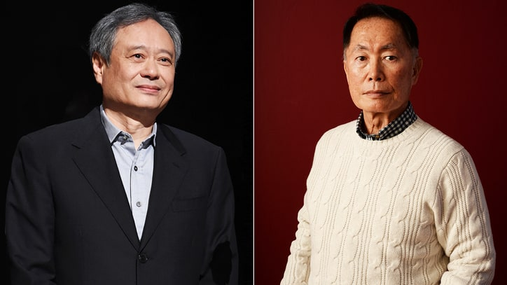 Ang Lee, Sandra Oh, George Takei Protest Asian Jokes at Oscars