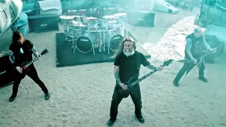Watch Slayer's Gruesome New 'You Against You' Video