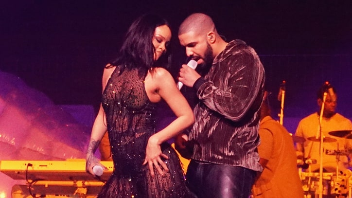 Watch Rihanna, Drake Recreate Steamy 'Work' Video During Concert