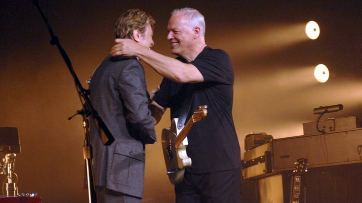 Flashback: David Gilmour and David Bowie Sing 'Comfortably Numb'