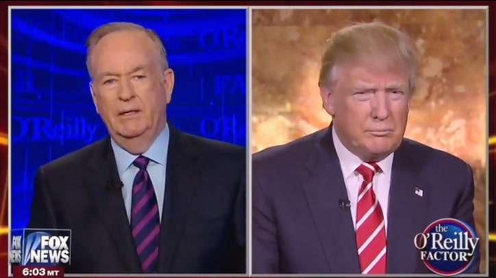 Donald Trump to Bill O'Reilly: 'I Always Like to Be a Gentleman'