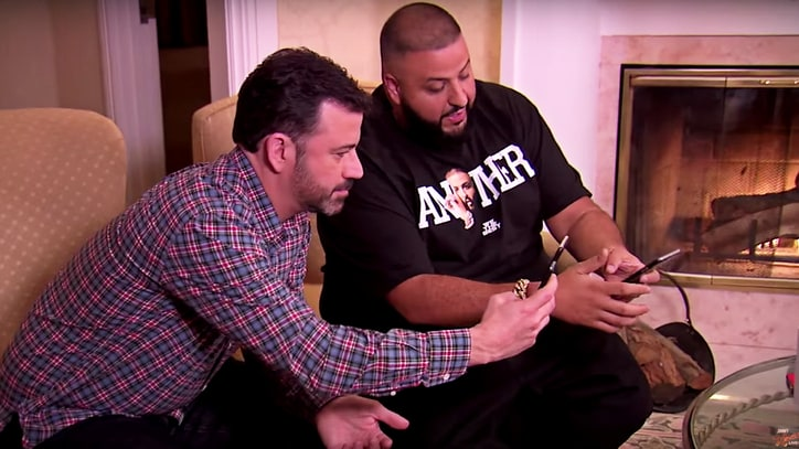 Watch Jimmy Kimmel Recruit DJ Khaled as Snapchat Advisor