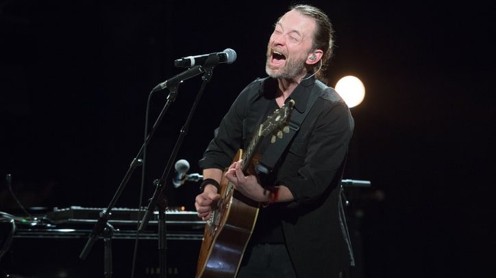 Radiohead's Thom Yorke Auctions Handwritten Lyrics for Oxfam Charity