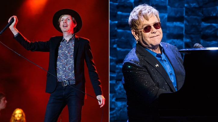 Beck and Strokes Members, Elton John Contribute EODM Charity Covers