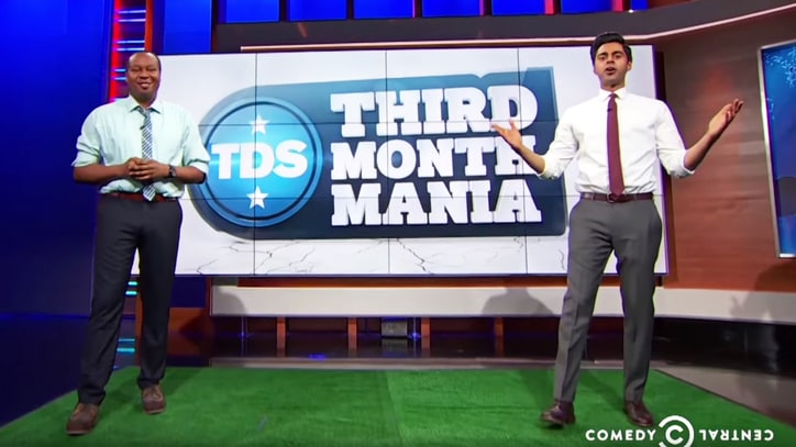 'Daily Show' Creates Rage-Filled Alternate March Madness Bracket