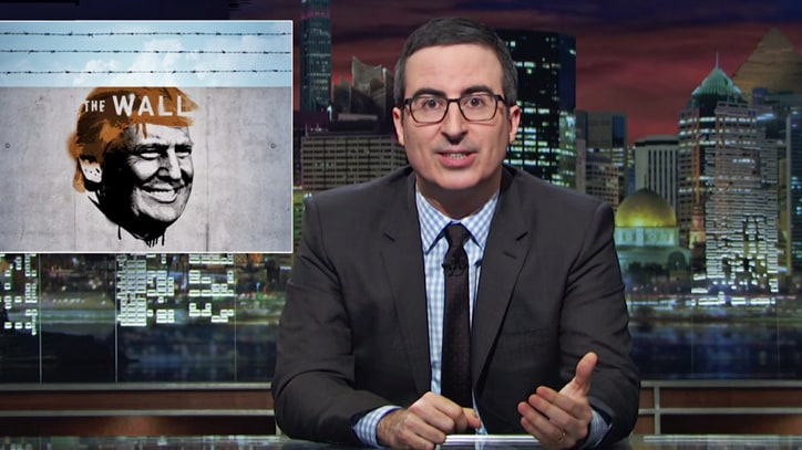 Watch John Oliver Break Down Absurdity of Trump's Border Wall
