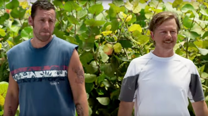 Adam Sandler, David Spade Take Another Shot in 'The Do-Over' Teaser