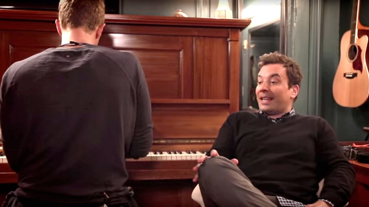 Watch Chris Martin, Jimmy Fallon Duet David Bowie's 'Life on Mars?'