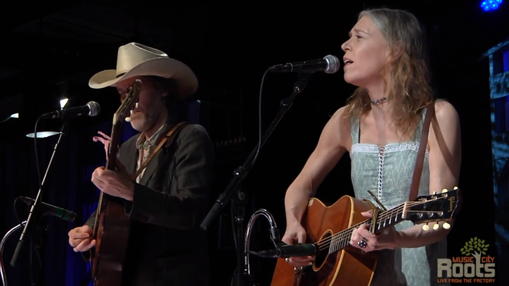 See Gillian Welch, David Rawlings Sing Sobering 'Everything Is Free'