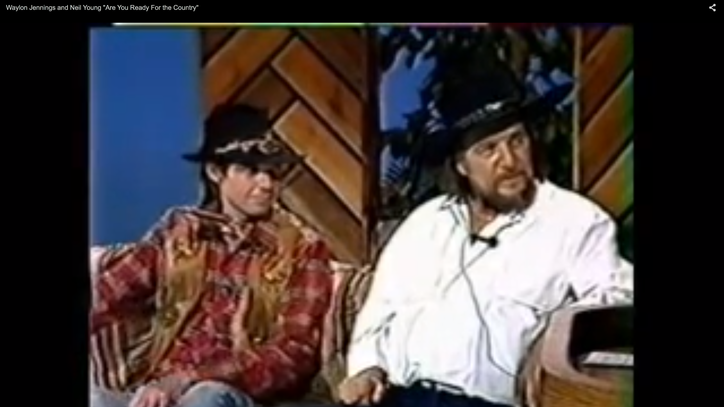 Flashback: Waylon Jennings, Neil Young Sing 'Country' Duet