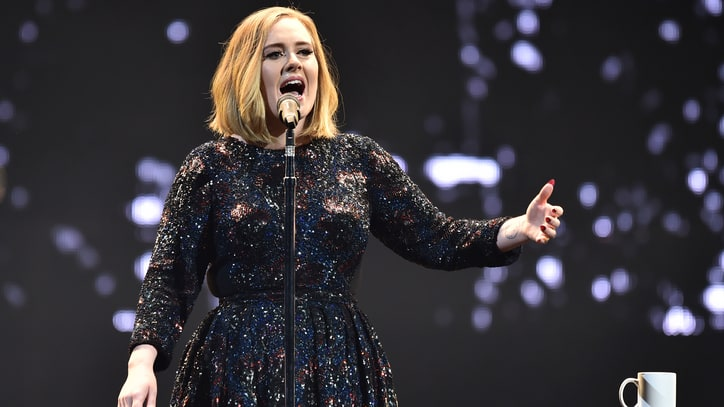 Adele Honors Brussels With Mighty 'Make You Feel My Love' in London