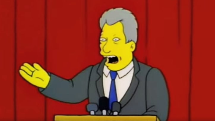 'The Simpsons': Greatest Political Moments
