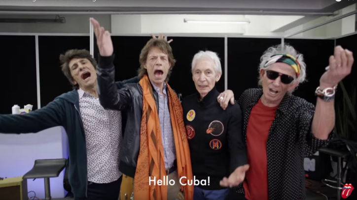 Hear Mick Jagger Speak Spanish in Video to Cuban Fans