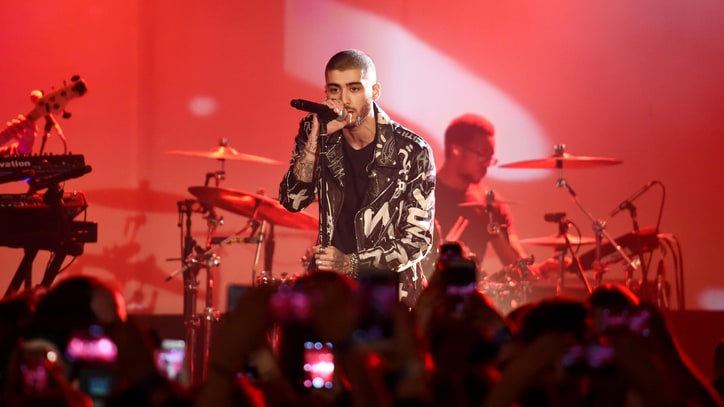 Watch Zayn Malik's First Solo Concert at Album Release Party