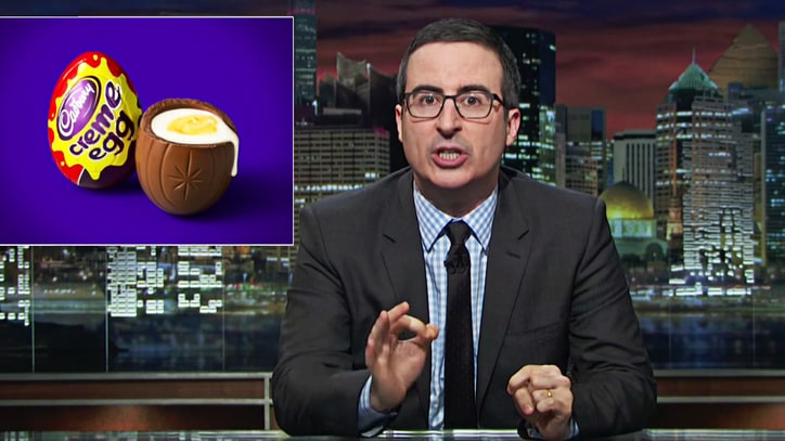 Watch John Oliver Solve 'Conspiracy' of Cadbury Creme Eggs