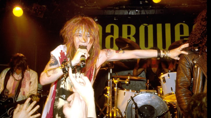 Flashback: Guns N' Roses Cover AC/DC in 1987