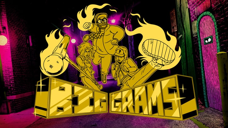 Watch Big Grams Get Animated in Psychedelic Adult Swim Video