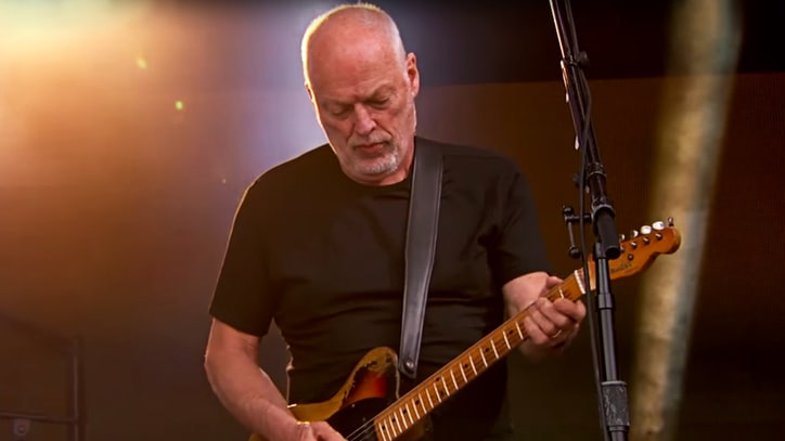 Watch David Gilmour's Lonesome 'Wish You Were Here' on 'Kimmel'